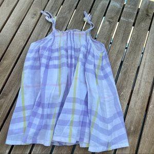 Dress smocks 9 / 12 months Burberry strapless